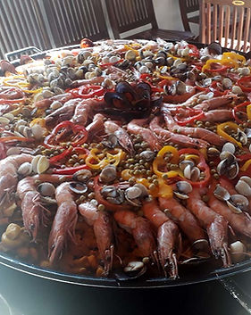 Buffet de Paella em domicilio