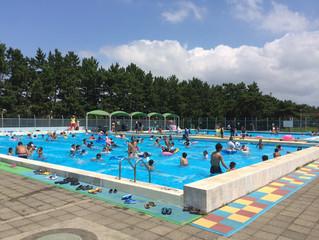 楽しかった夏のプールも今日でおしまいです。