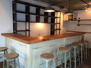 1階のカフェがぼちぼち出来てきました。
