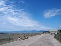 海まで徒歩10分。