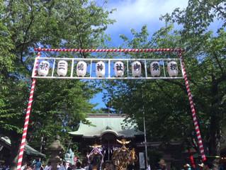 三嶋神社にて須賀のまつりが行われました