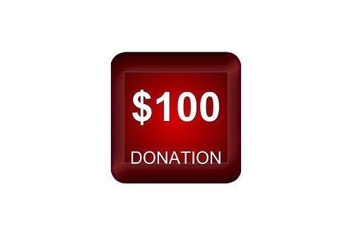$100 Donation
