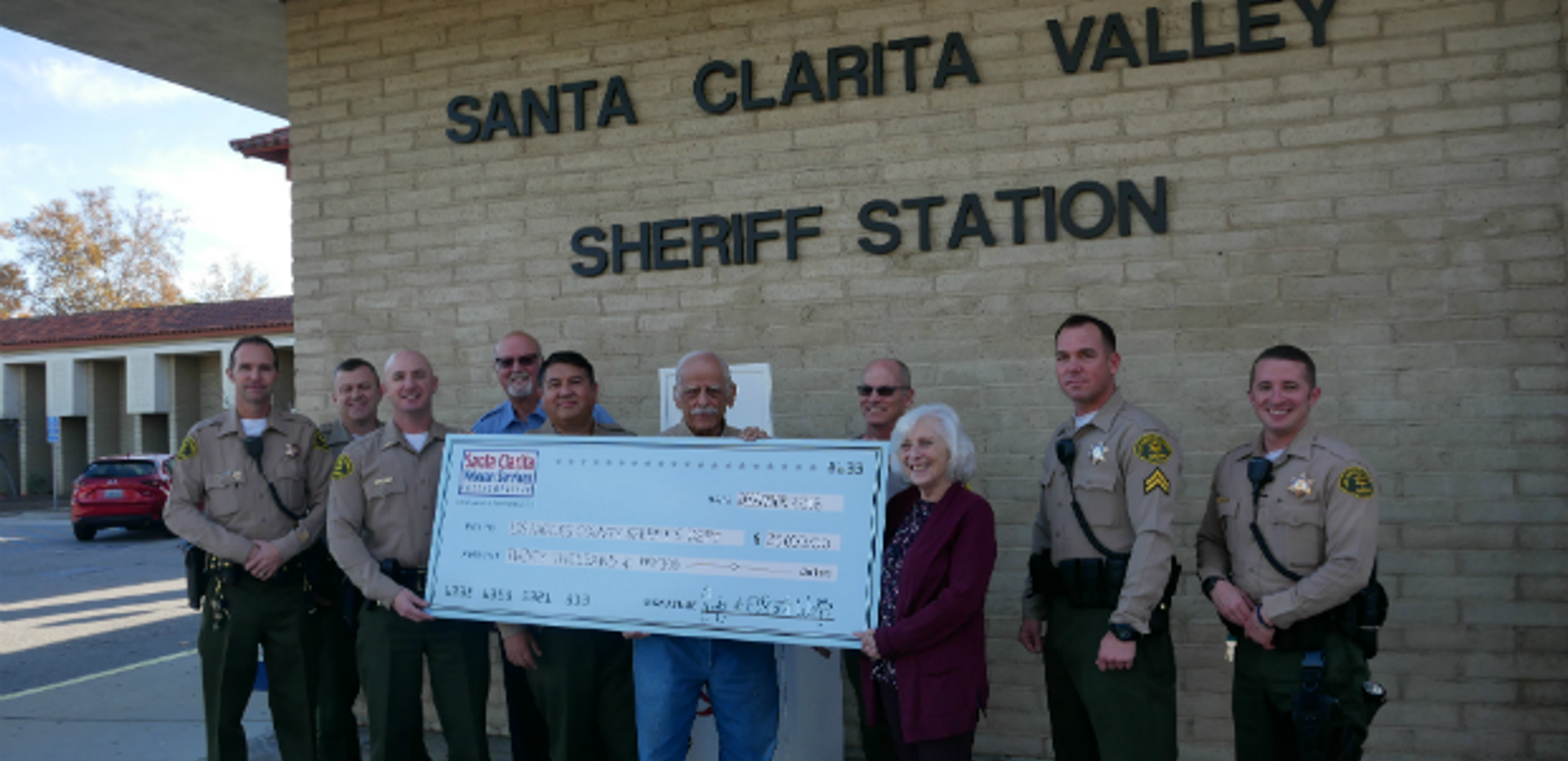 SCV Sheriff's Station Receives $20K Donation For Tasers