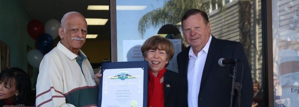 City councilmembers Bob Kellar and Marsha McLean