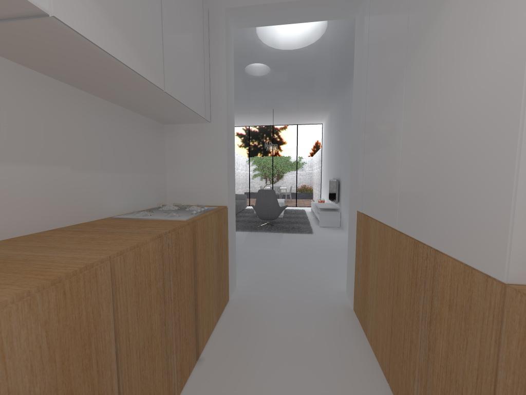woonkamer vanuit keuken