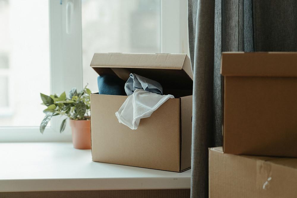Belongings left behind by tenant