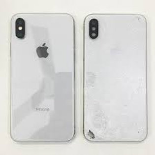 iPhone X Back Glass Housing Repair