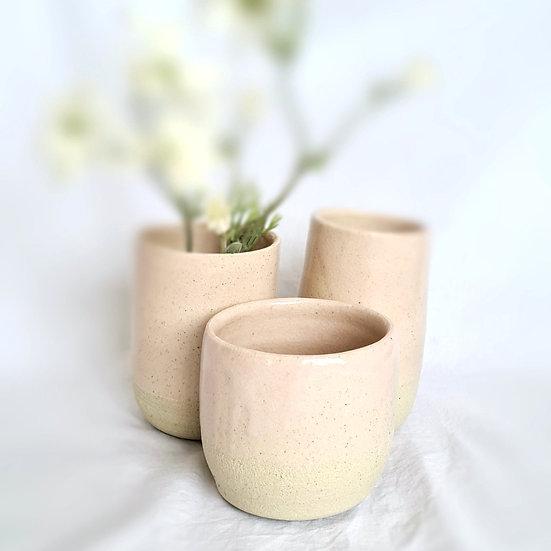 Pink Quartz Vase #3