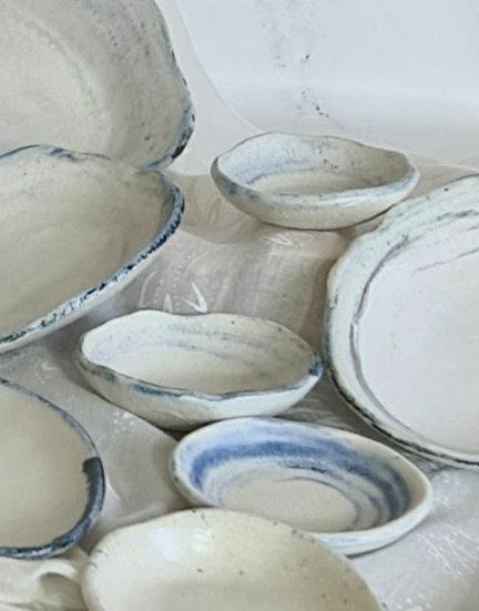 Sydney Rock Oyster Round Condiment Dish