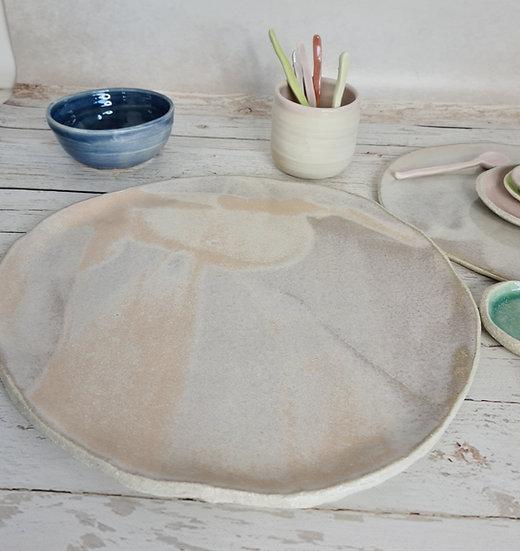 Shell Pink Large Platter