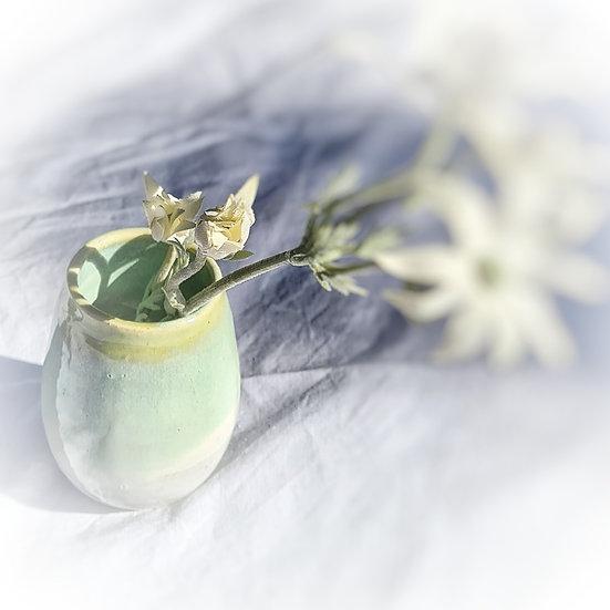 Green Onyx Bud Vase #2