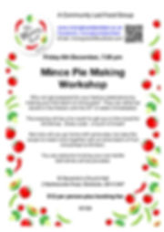 191206 Meeting 50 Mince Pie Making Works