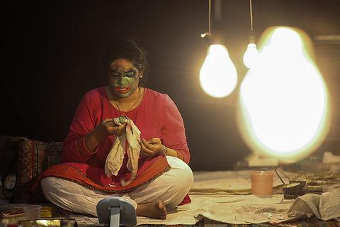 Struggle-of-Kathakali-AvdheshTyagi-perfo