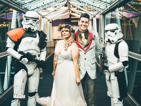 How to pull off a cool themed wedding