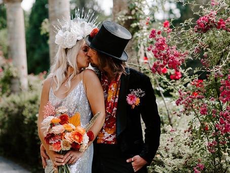 Children of the Revolution - glam-rock wedding inspiration