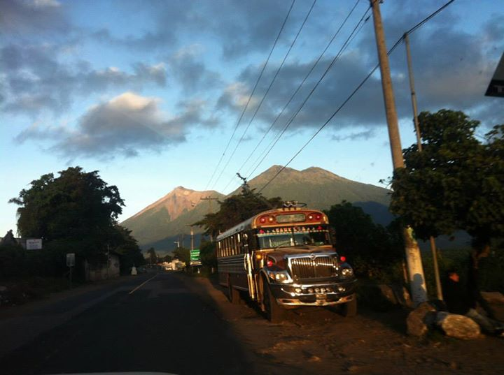 Antigua Guatemala Chicken Bus