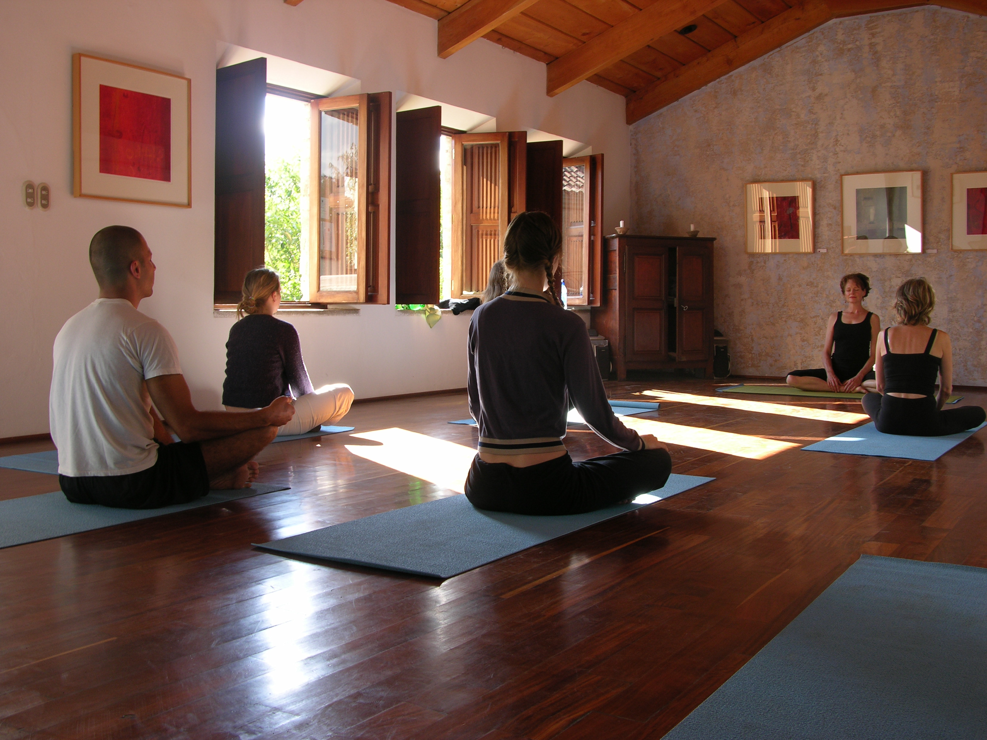 Meson Panza Verde Yoga Studio
