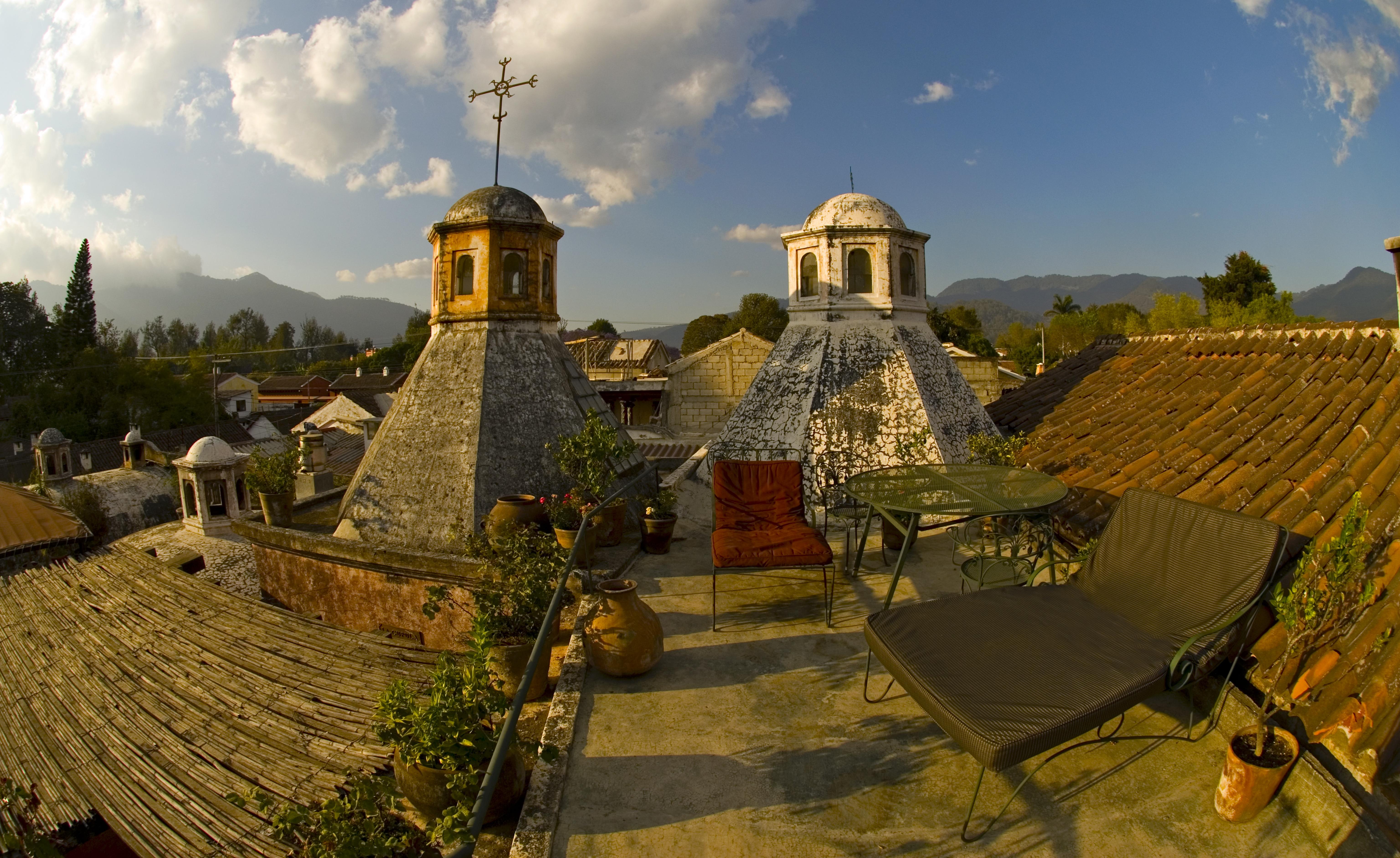 Meson Panza Verde Terrace View
