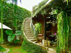 Meson Panza Verde Garden Stair Case