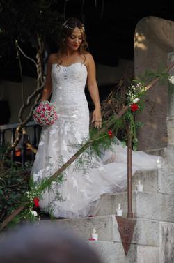 Bride at Meson Panza Verde
