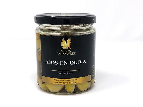 Ajos en Oliva