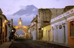 Arch Street Antigua Guatemala