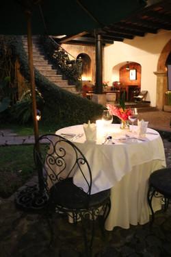 Entrance Table at Meson Panza Verde