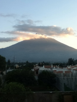 Volcano Agua, antigua Guatemala
