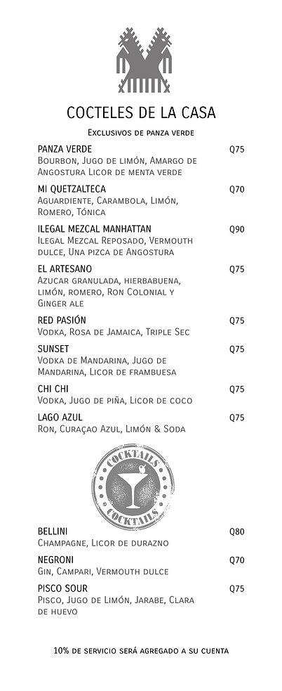 Meson Panza Verde Special Cocktails