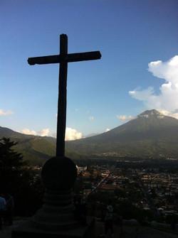 Beautiful Antigua cierro de la cruz