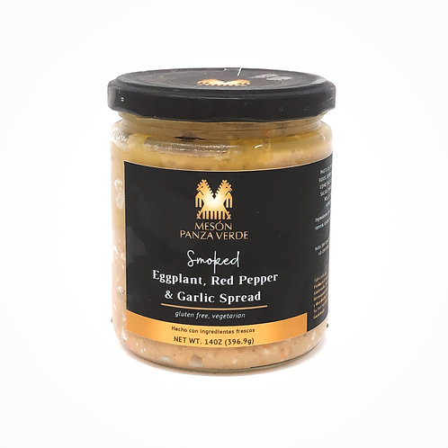 Smoked Eggplant, Red Pepper & Garlic Spread