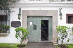 Entrance to Meson Panza Verde