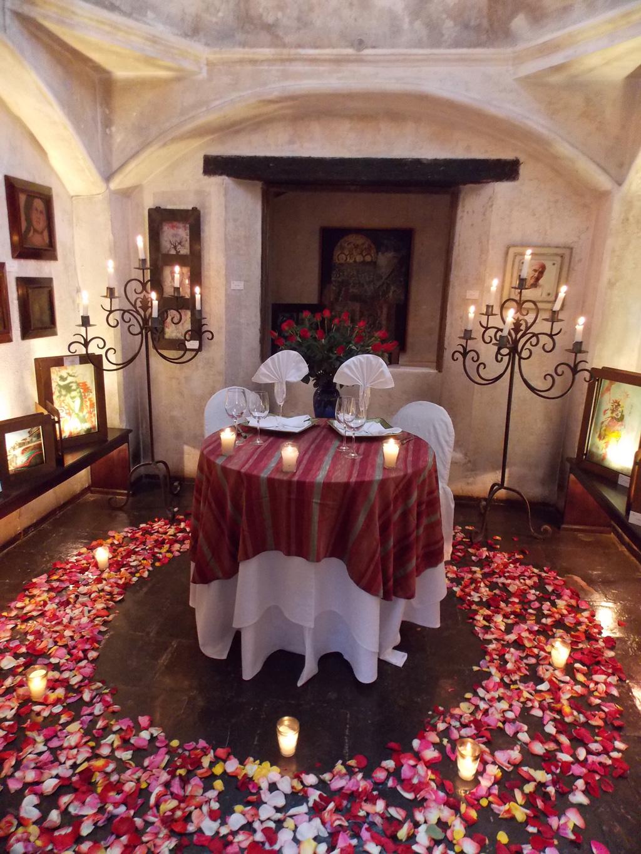 Romantic Dinner in La Cupula