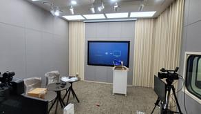사내방송 스튜디오 제작 / 루먼텍 / RUMANTEK / VS4 / SONY PXW - Z190