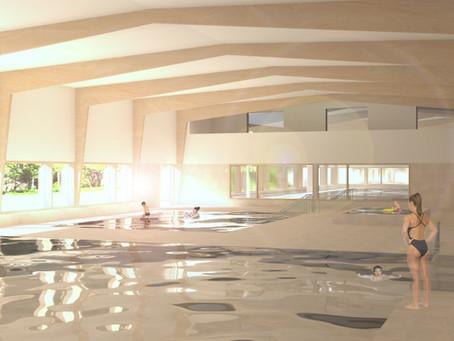 Voorontwerp nieuw zwembad
