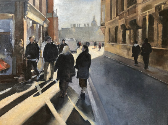 Top end of Trinity Street, Cambridge
