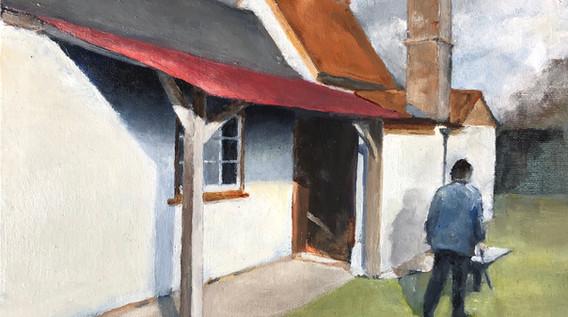 Cottage at Wicken Fen