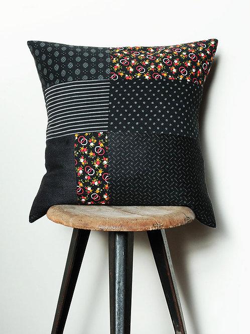 Retro Print & Vintage Fabrics Cushion
