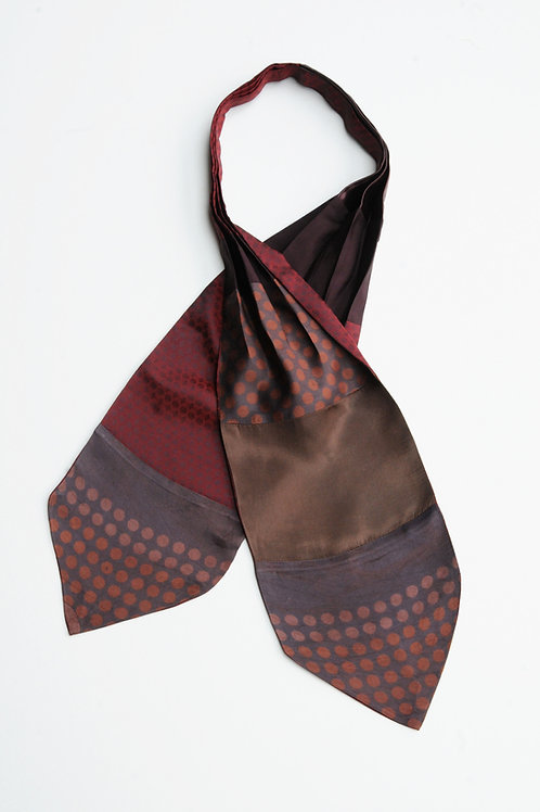 Pleated Tie Scarf