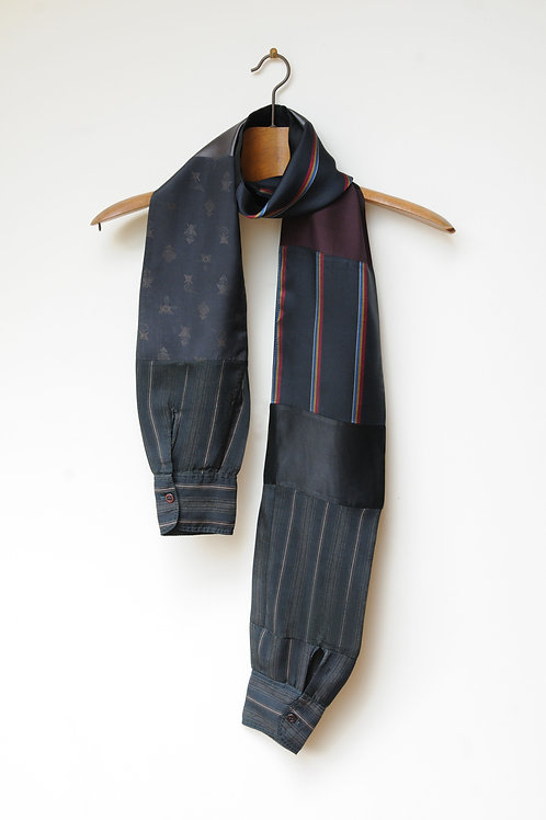 Stripe Sleeve Scarf