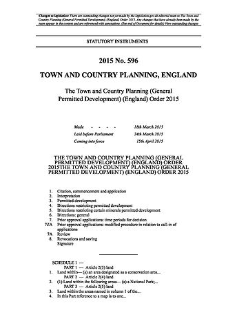 The Town and Country Planning (General .