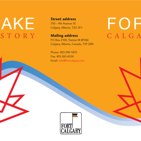 Fort Calgary Brochure (mock up)