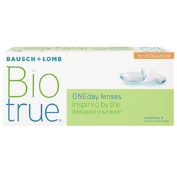 Bausch Lomb Biotrue One day For astigmat