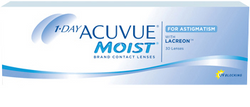 Johnson & Johnson Acuvue Moist For Astig