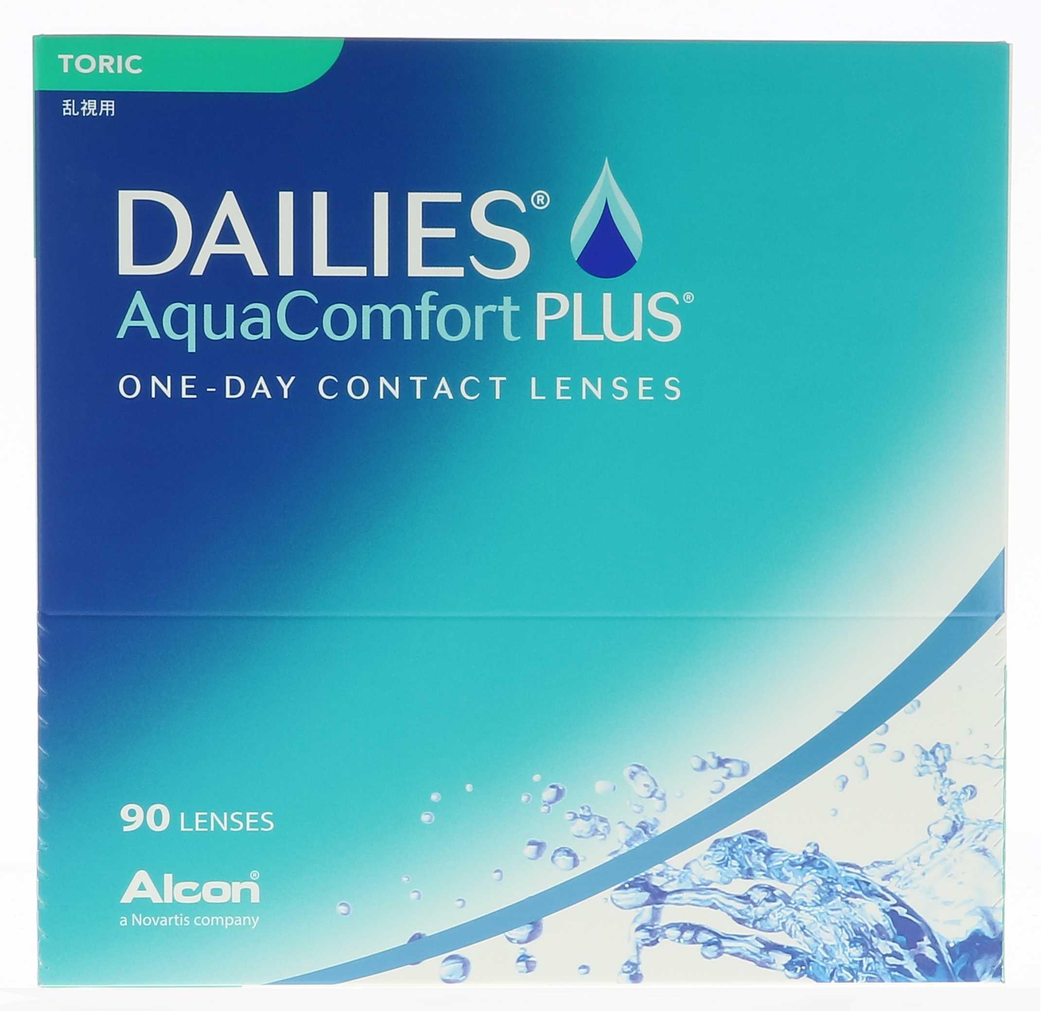 Alcon Dailies Aquaconfort Plus Toric 90L