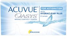 Johnson & Johnson Acuvue Oasys For Astig