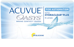 Johnson & Johnson Acuvue Oasys For Astig