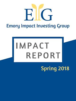 EIIG Impact Report Spring 2018