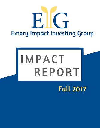 EIIG Impact Report Fall 2017