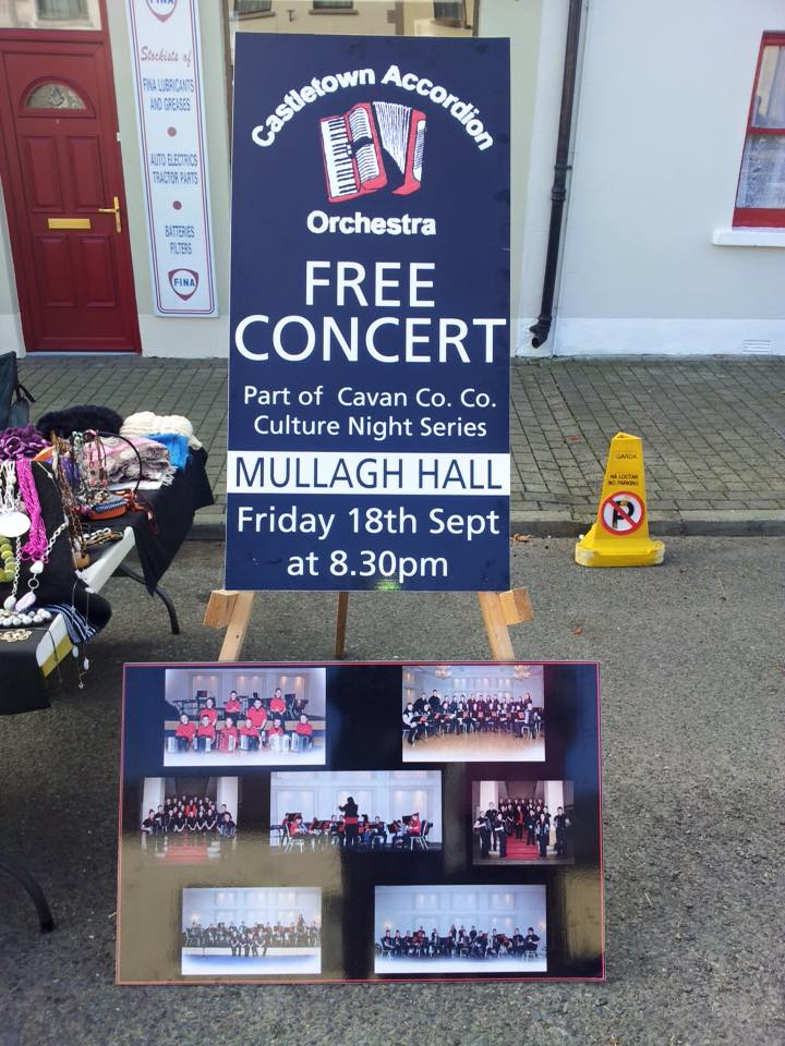 castletown accordion free concert